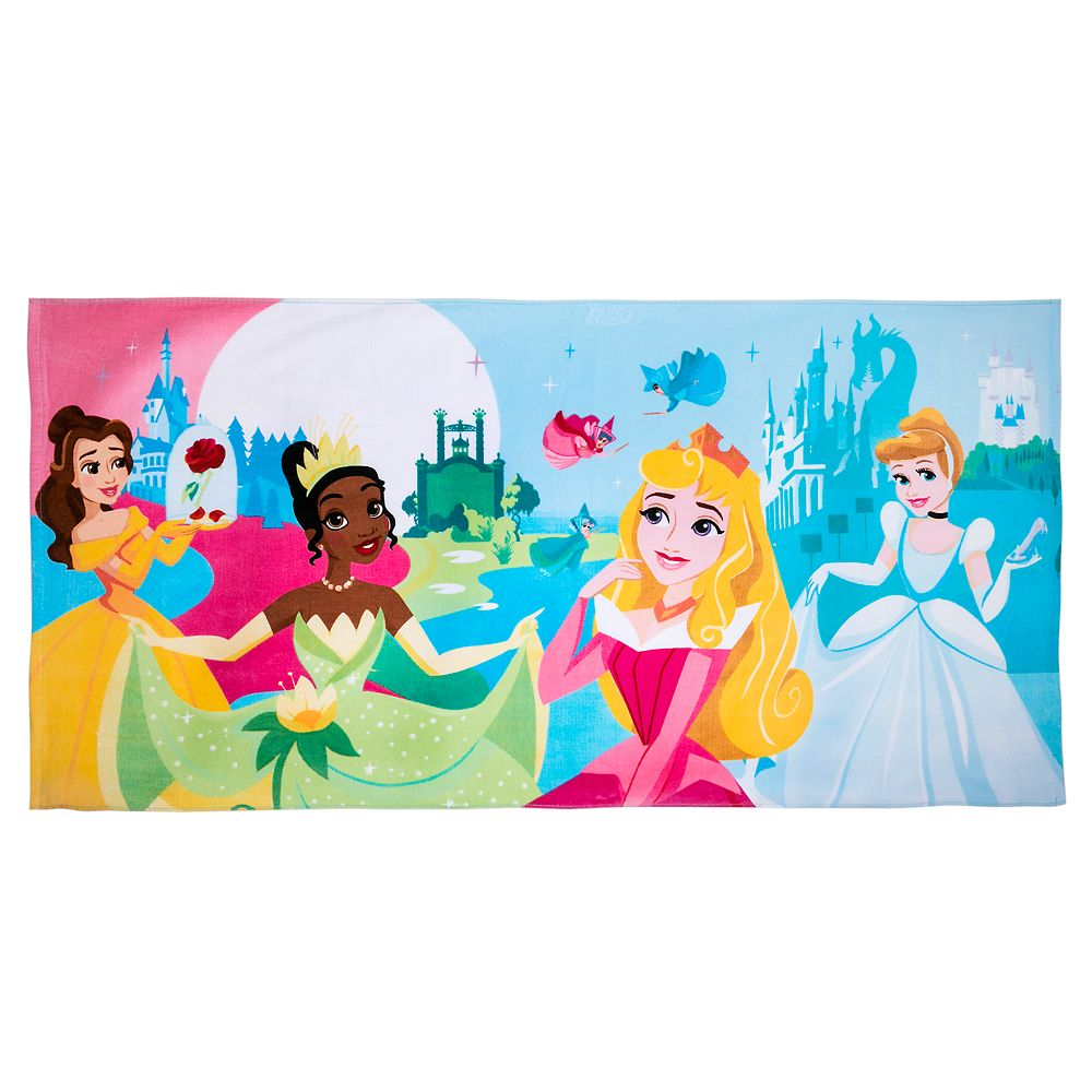 Disney Princess Beach Towel – Personalized