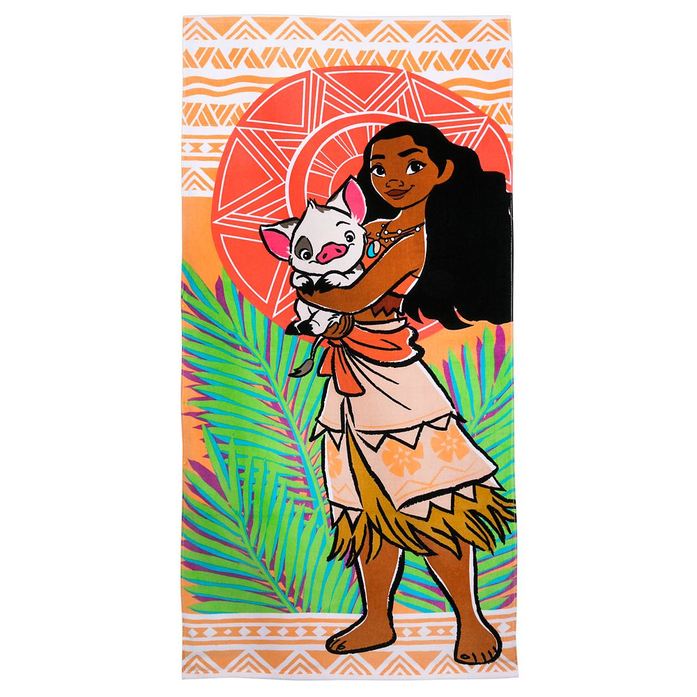 Moana Beach Towel – Personalized