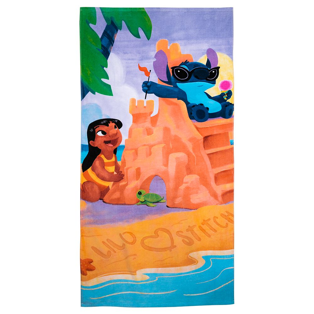 Lilo & Stitch Beach Towel – Personalized