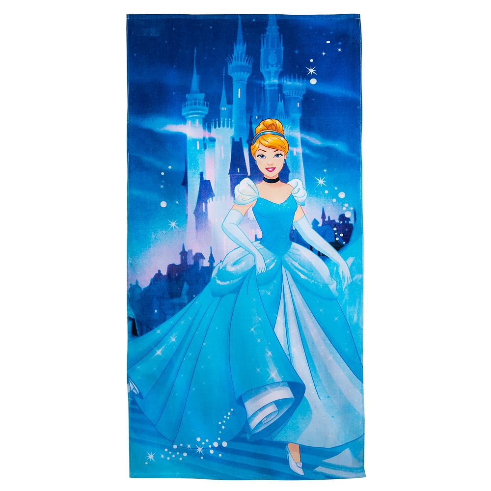Cinderella Beach Towel – Personalized