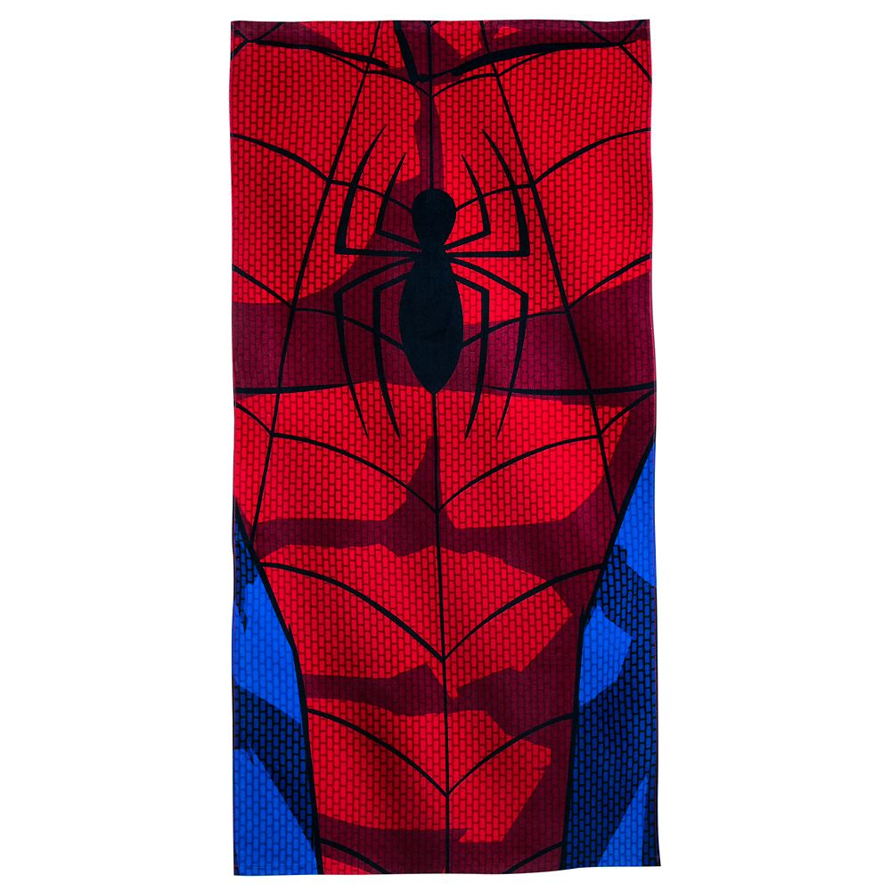 Spider-Man Beach Towel Personalized Official shopDisney