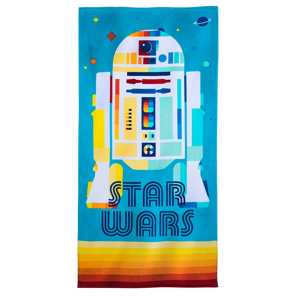 R2-D2 Beach Towel – Star Wars – Personalized