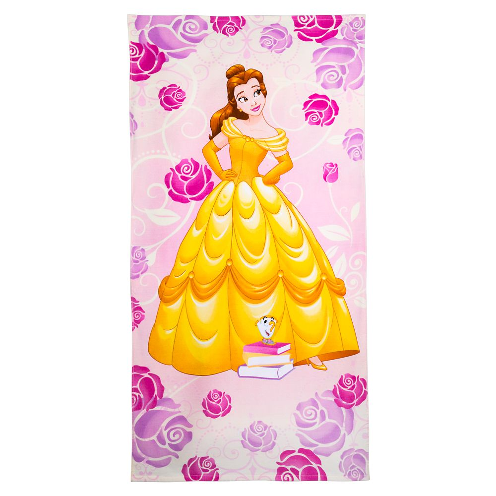 Belle Beach Towel – Personalized