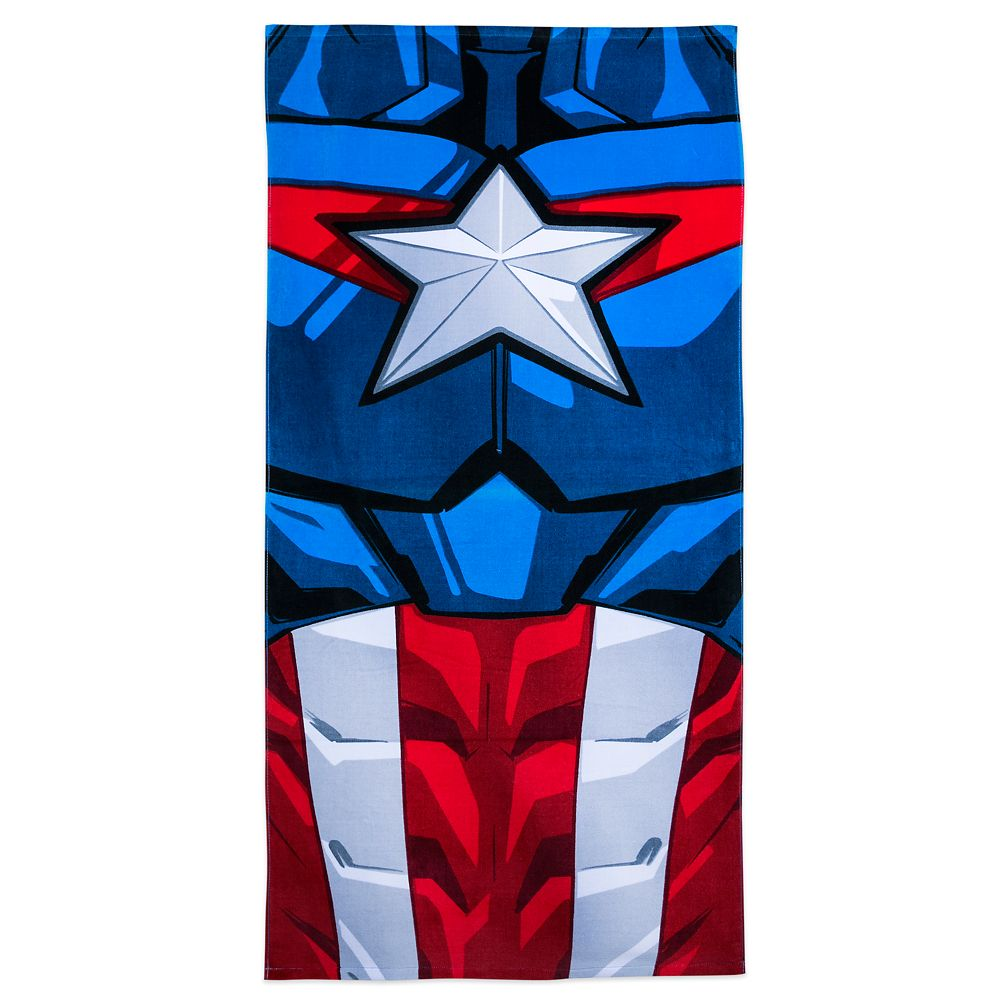 Captain America Beach Towel – Personalized