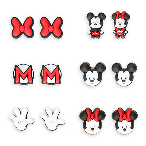 Mickey and Minnie Mouse MXYZ Earrings Set