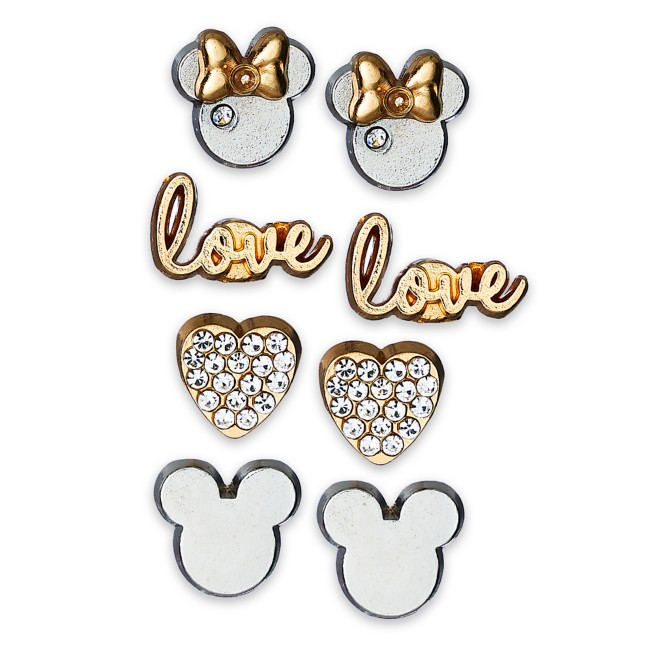 Minnie Mouse Jewelry and Tray Set