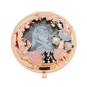 Sleeping Beauty Glass Compact Mirror - 60th Anniversary