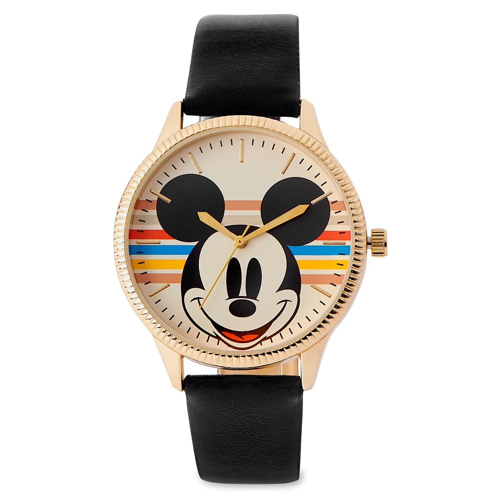 Mickey Mouse Rainbow Watch for Men Official shopDisney