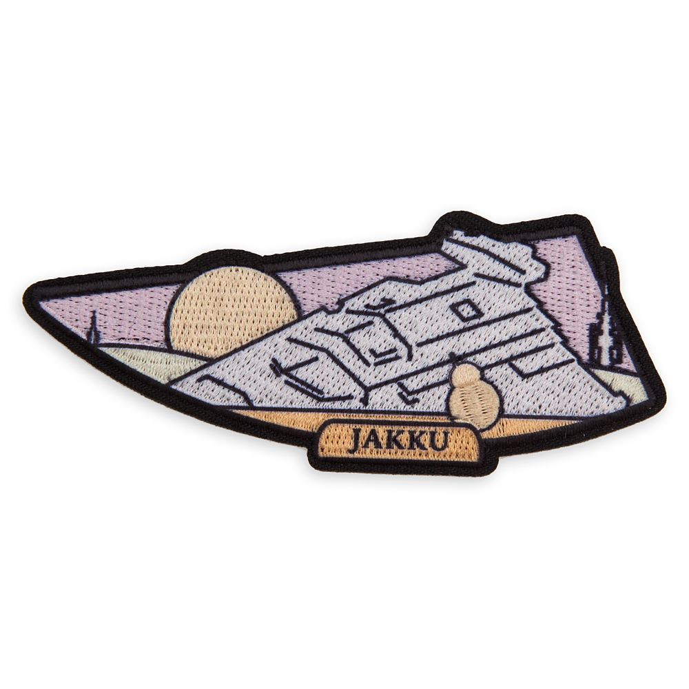 Star Wars Mystery Iron-on Patches  – The Saga Edition