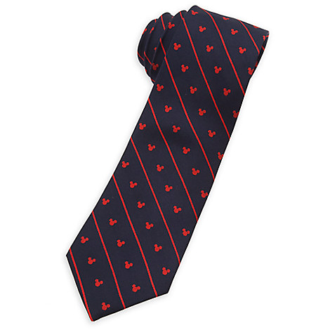 Mickey Mouse Silk Tie for Adults