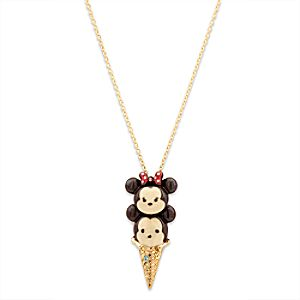 Mickey and Minnie Mouse ''Tsum Tsum'' Necklace