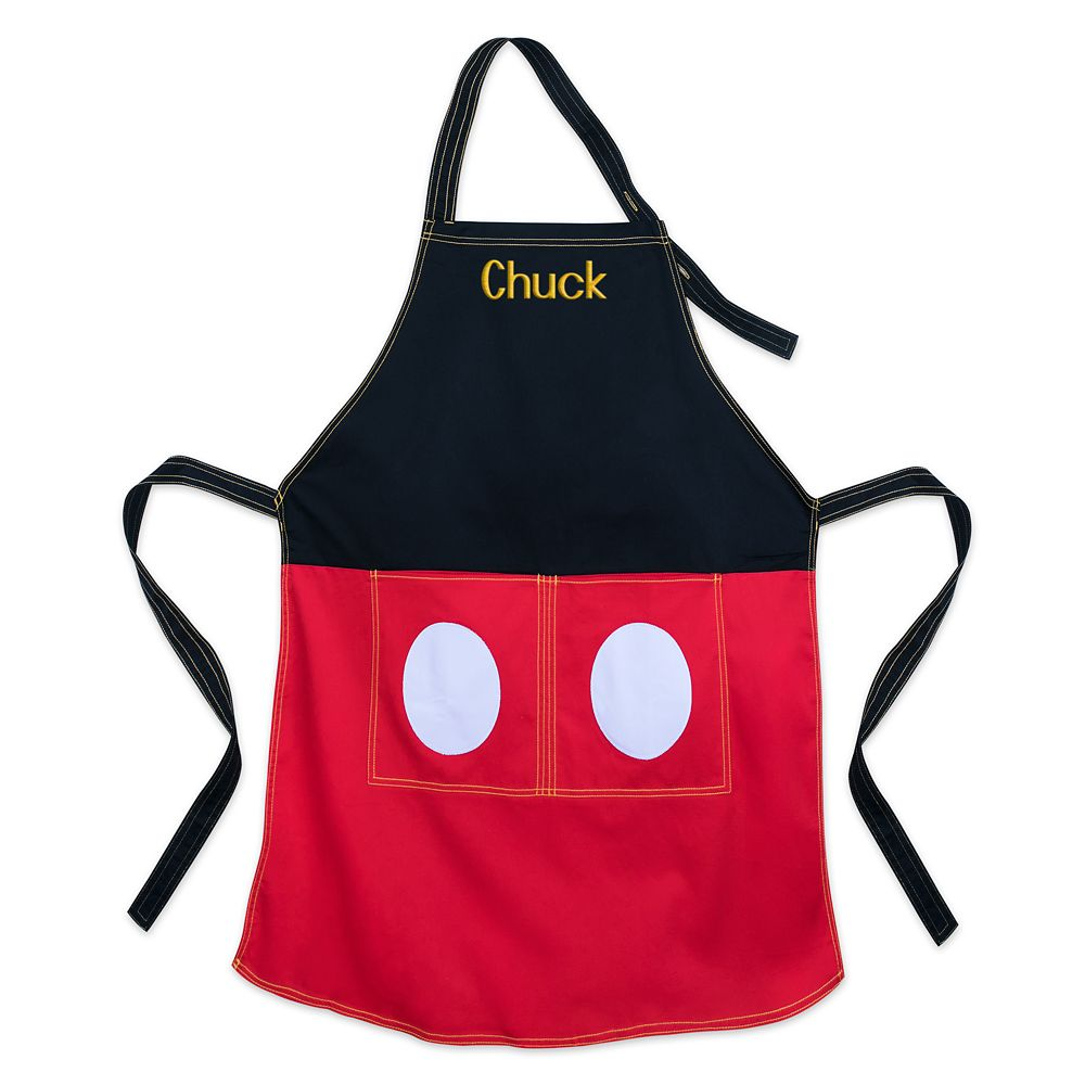 Mickey Mouse Apron for Adults - Personalizable