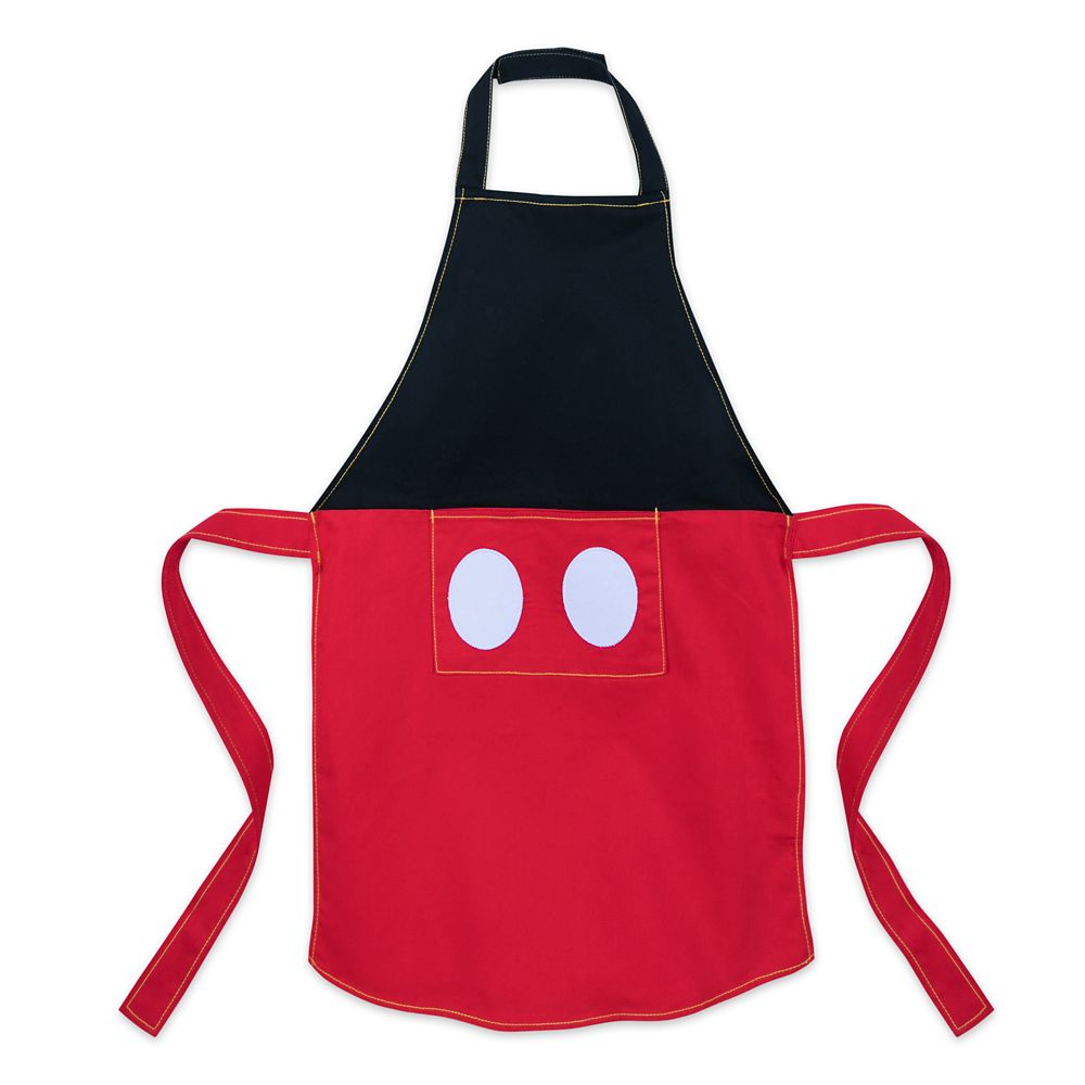 Mickey Mouse Apron and Chef's Hat Set for Kids – Personalizable