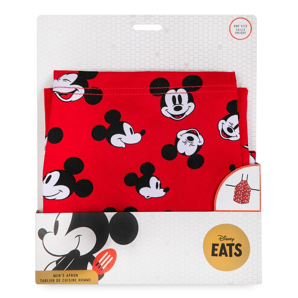 Mickey Mouse Apron for Adults – Personalized – Disney Eats