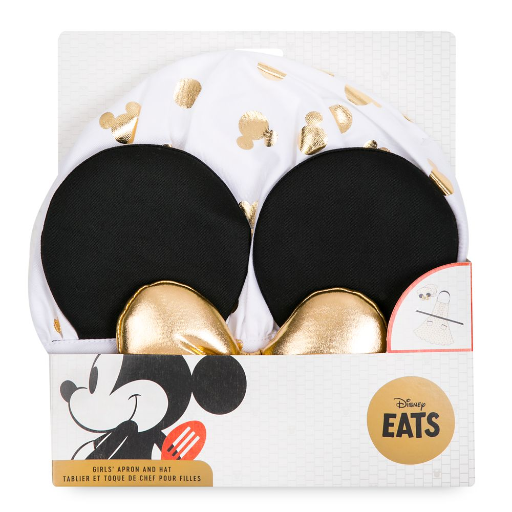 Minnie Mouse Apron and Hat Set for Girls – Disney Eats