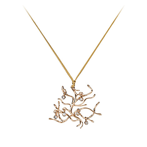 Belle Rosetree Pendant Necklace - Beauty and the Beast - Live Action Film