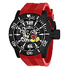 Mickey Mouse Corduba Watch for Men by INVICTA - Red Band - Limited Edition