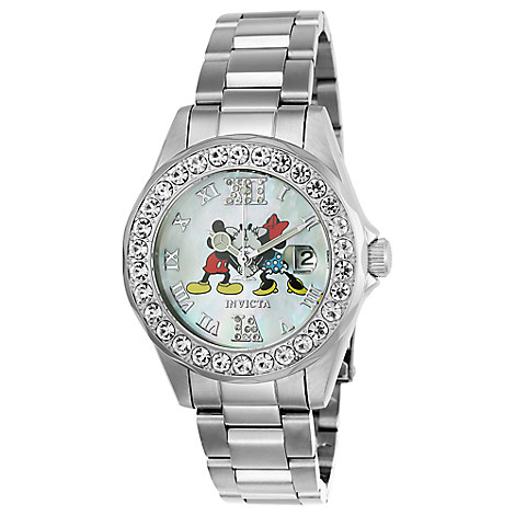 Mickey and Minnie Mouse Pro Diver Watch for Women by INVICTA - Limited Edition