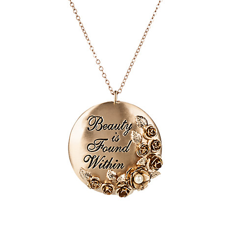 Beauty and the Beast Necklace with Pendant by Danielle Nicole - Live Action Film