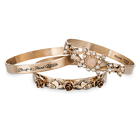 Beauty and the Beast Bangle Set by Danielle Nicole - Live Action Film