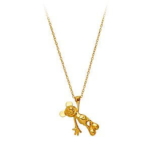 Mickey The True Original Gold Necklace by RockLove - Gold Collection