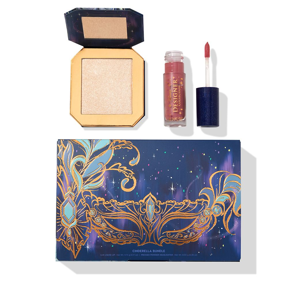 24 Unique Disney Gift Ideas featured by top US Disney blogger, Marcie and the Mouse Cinderella Bundle Disney Designer Collection Midnight Masquerade Series by ColourPop