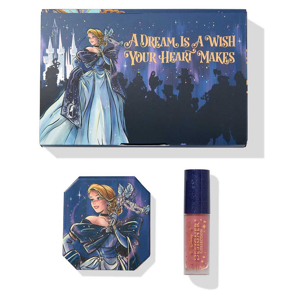 Cinderella Bundle –  Disney Designer Collection Midnight Masquerade Series by ColourPop