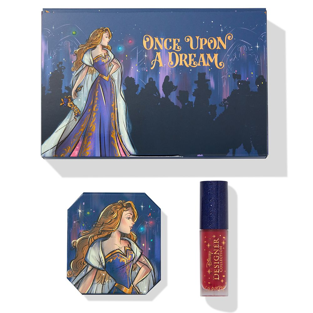 Aurora Bundle – Disney Designer Collection Midnight Masquerade Series by ColourPop