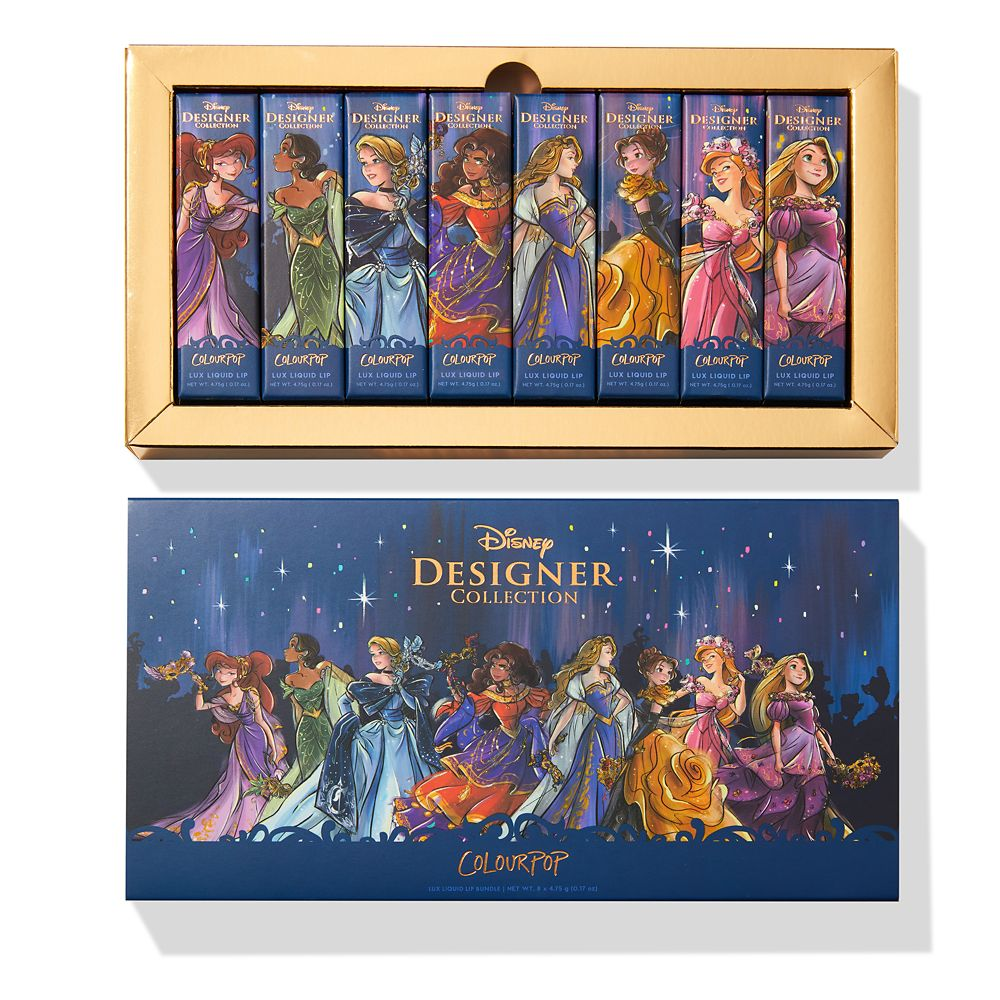 Happily Ever After Disney Designer Collection Midnight Masquerade Series Lux Liquid Lip Bundle by ColourPop