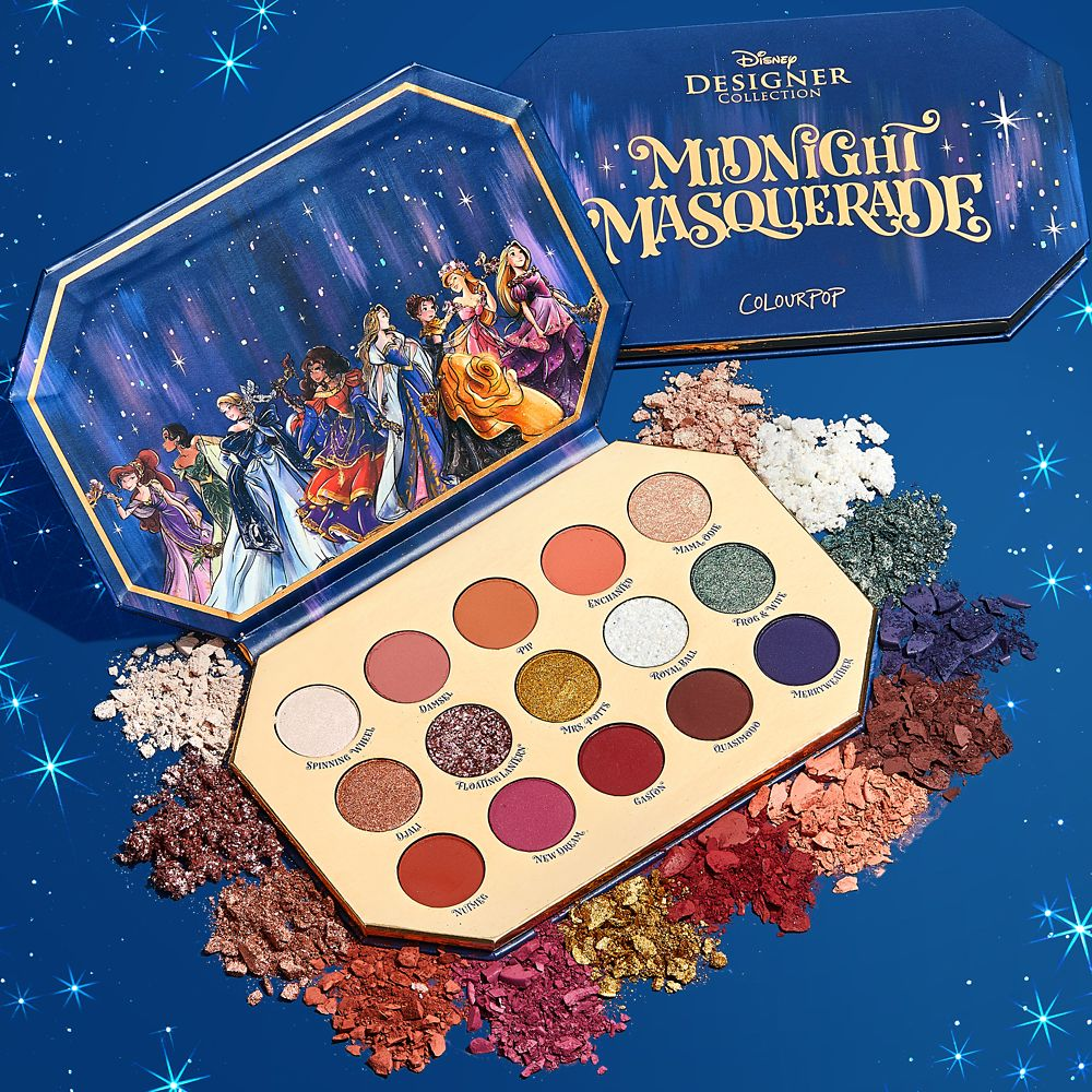 Disney Designer Collection Midnight Masquerade Series Eyeshadow Palette by ColourPop