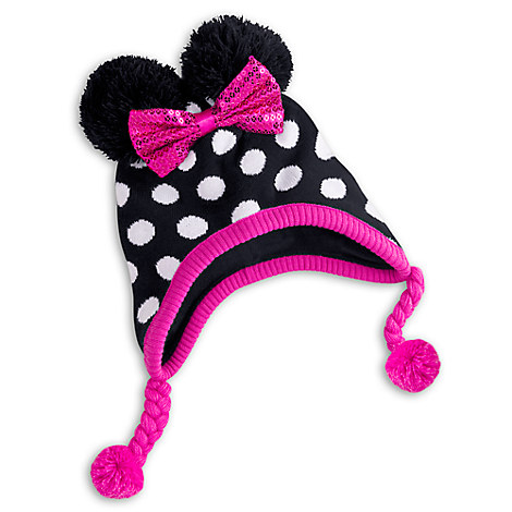 Minnie Mouse Clubhouse Knitted Hat for Kids - Personalizable