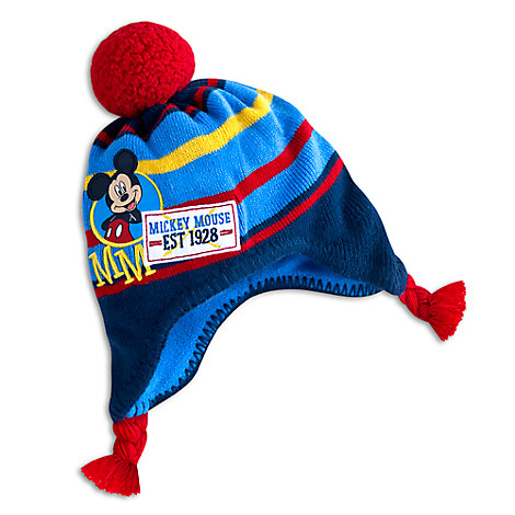 Mickey Mouse Winter Hat for Kids - Personalizable