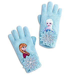 Anna and Elsa Gloves for Kids