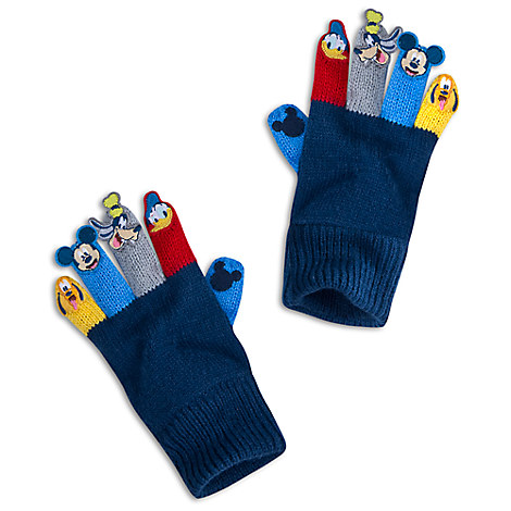 Mickey Mouse and Friends Gloves for Kids