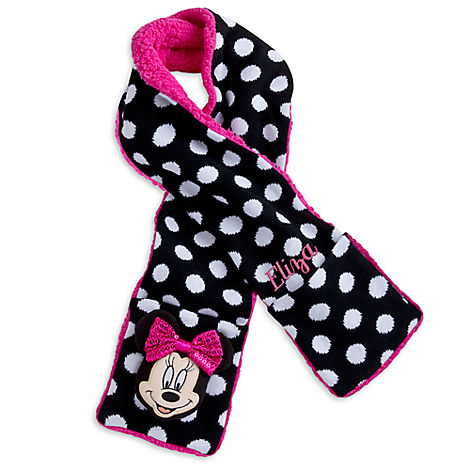 Minnie Mouse Clubhouse Scarf for Kids - Personalizable