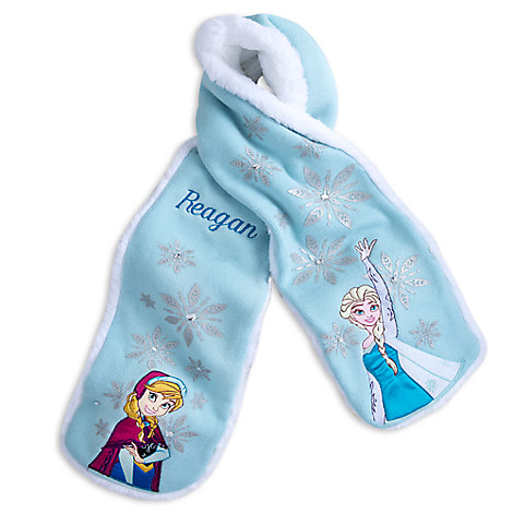 Anna and Elsa Scarf for Kids - Personalizable