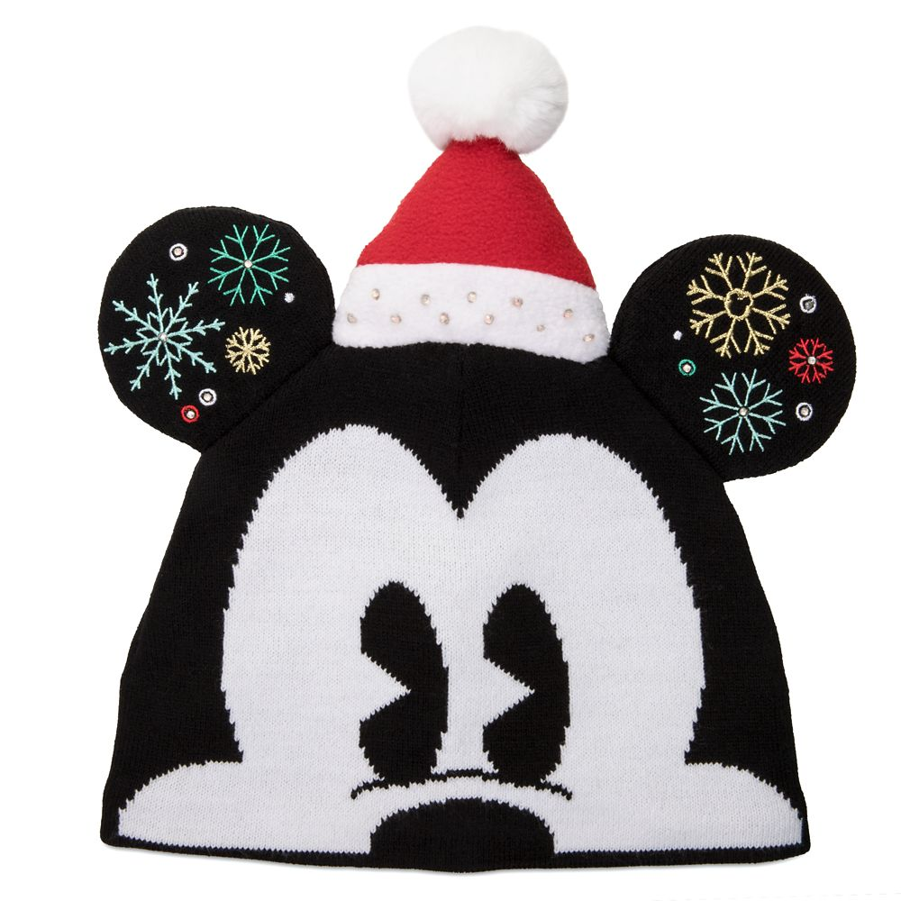 Mickey Mouse Light-Up Beanie Hat for Adults
