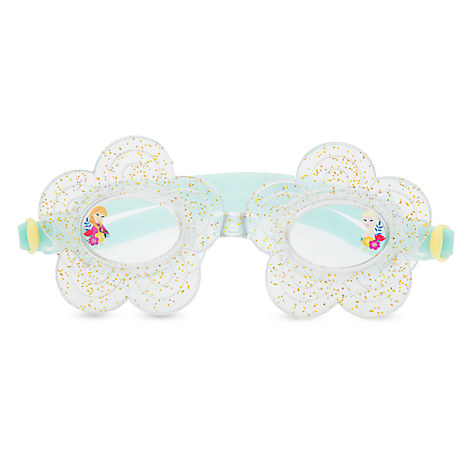 Anna and Elsa Swim Goggles for Kids - Frozen