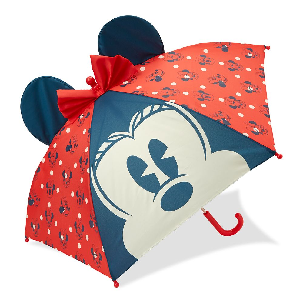 Minnie Mouse Red Umbrella for Kids