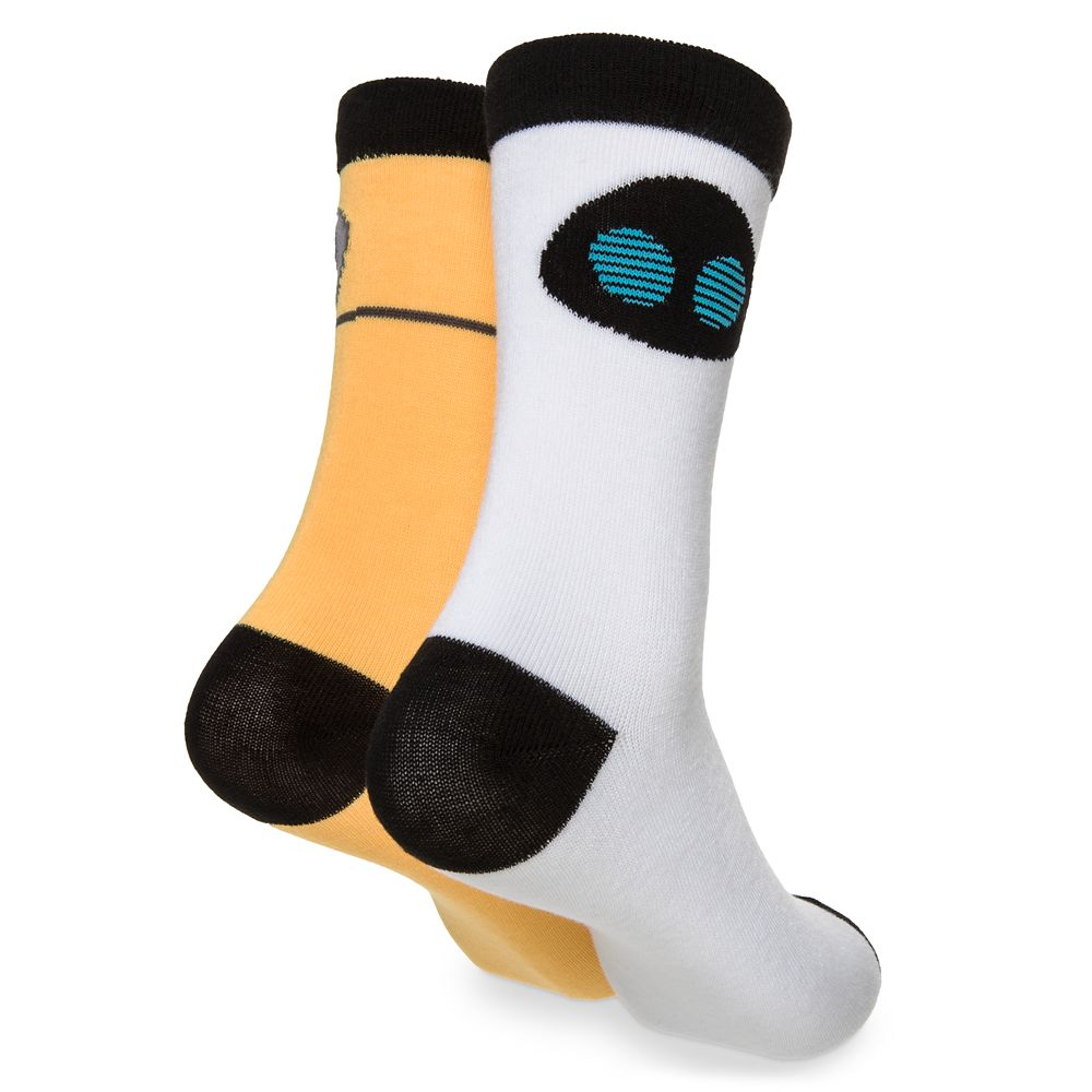 WALL•E and E.V.E. Socks in Ornament for Adults