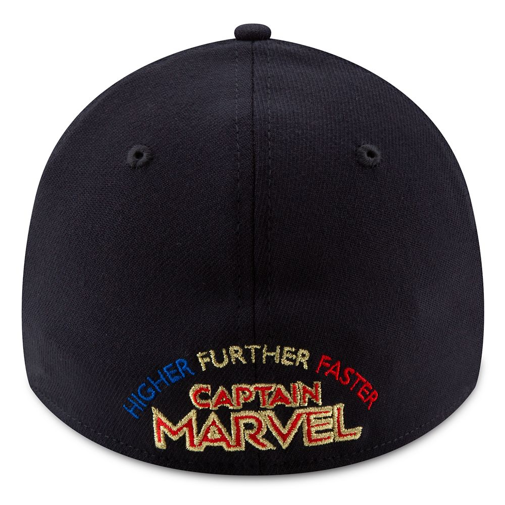 Marvel's Captain Marvel Baseball Cap for Adults by New Era – Marvel Studios 10th Anniversary