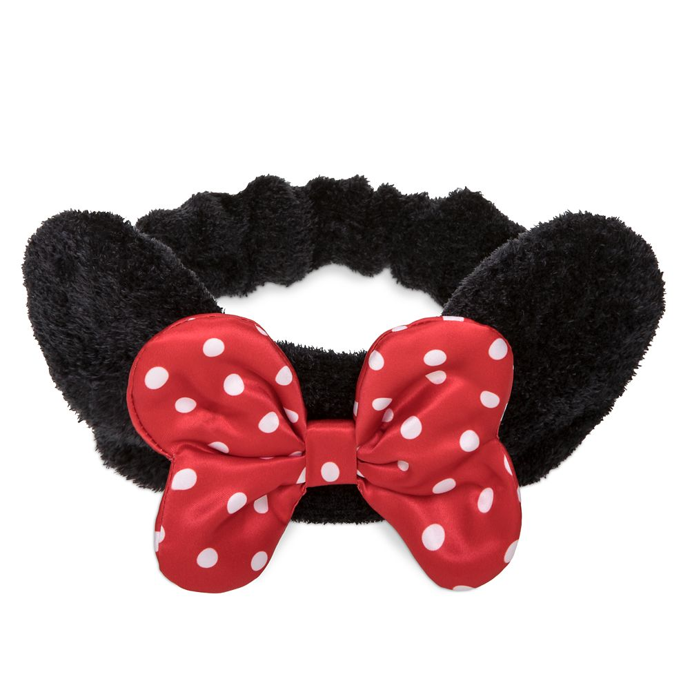 Minnie Mouse Headband and Pouch Spa Set