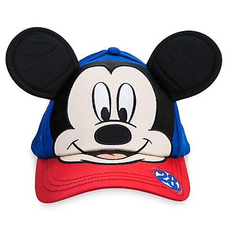 Mickey Mouse Character Baseball Cap