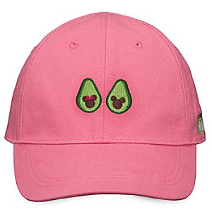 Mickey and Minnie Mouse Avocado Baseball Cap for Adults