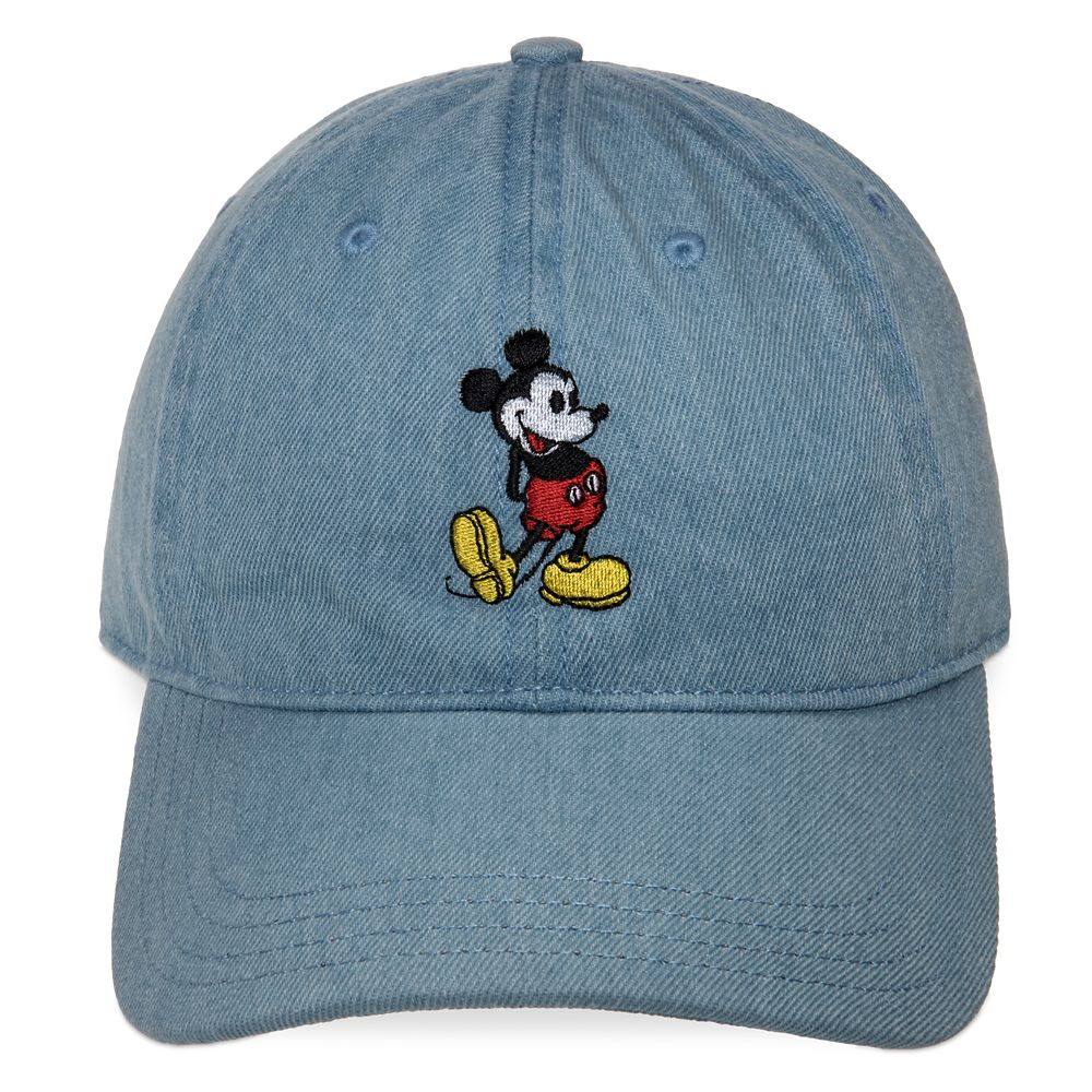 Mickey Mouse The True Original Denim Baseball Cap for Adults