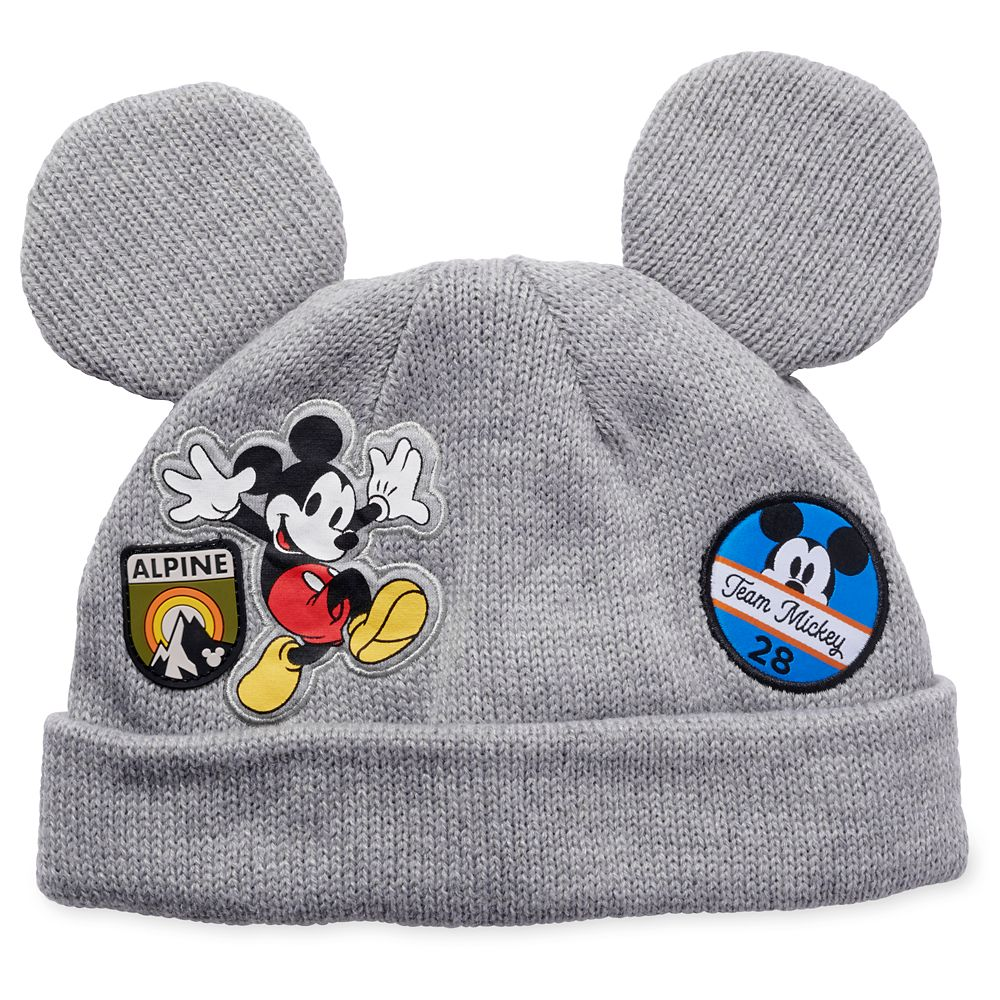 Mickey Mouse Knit Hat for Kids