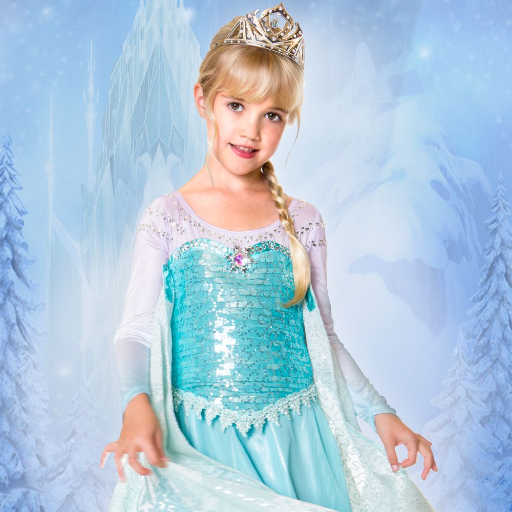 Elsa Limited Edition Costume for Kids  Frozen Official shopDisney