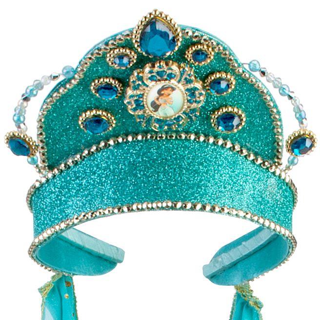 Jeweled Jasmine Tiara with Veil