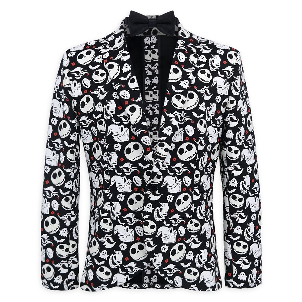 The Nightmare Before Christmas Glow in the Dark Half Suit and Light Up Tie for Adults Official shopDisney