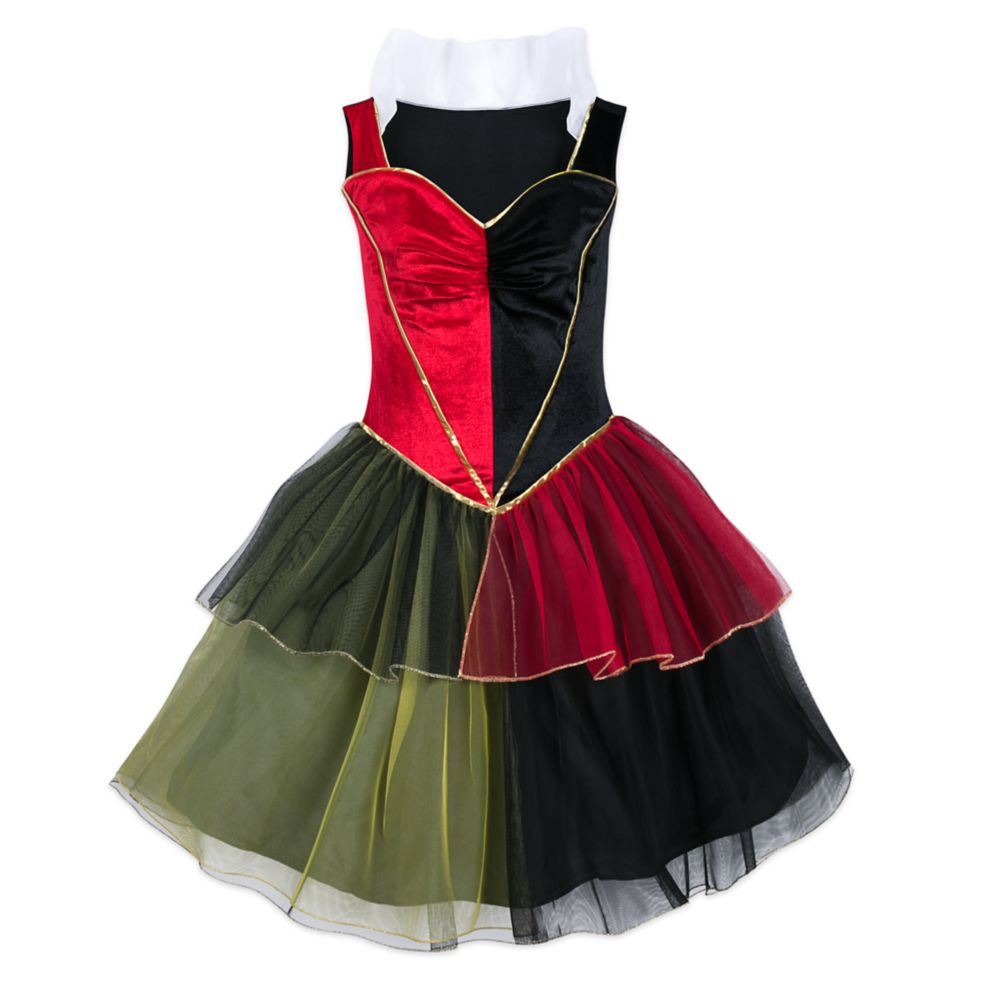 Queen of Hearts Costume with Tutu for Adults – Alice in Wonderland